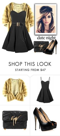 """""""Date Night"""" by conch-lady ❤ liked on Polyvore featuring Glamorous, Giuseppe Zanotti, Maison Margiela, women's clothing, women, female, woman, misses and juniors"""