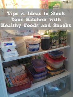 Ideas para tener un refrigerador lleno de alimentos sanos