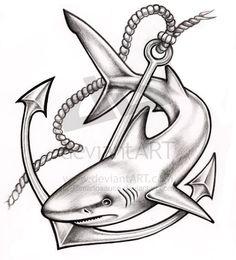 Resultado de imagen para dibujos de tiburones