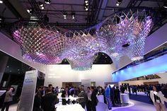 Gaudi-inspired sculpture by SOFTlab + IBM, Barcelona – Spain » Retail Design Blog