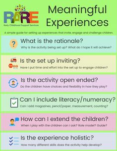 Setting Up Experiences that challenge and extend children's learning Inquiry Based Learning, Preschool Learning, Early Learning, Preschool Activities, Teaching, Kindergarten Inquiry, Primary Education, Early Education, Early Childhood Education