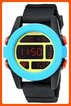 b034fb96c85 Men s Wrist Watches - Nixon Mens Unit Digital Display Automatic Self Wind  Blue Watch   Check this awesome product by going to the link at the image.