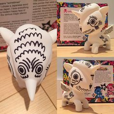 """""""Special custom #tokidoki #unicorn made for me by @nathanjurevicius. Thank you so much I love the design, always wanted one of these just never knew what…"""""""