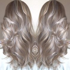 Sun kiss Hilites / ombré / silver and gold tones /blondes / hairstylist / hair by: Emilio V.  @hairlegacyinc.com