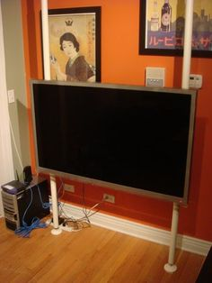 40 Quot Flat Panel In University Dorm Room How Do You Hang A
