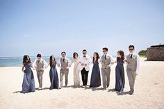 The wedding of Suryadi & Rosalyne . Photo by @william_sajin #SajinPPF . Makeup by @andychunmakeup Wedding dress by @mryogiepratama  Organized by @projectartplus #SuryadiRosalyne #PPFBali #PPFgoestoBali