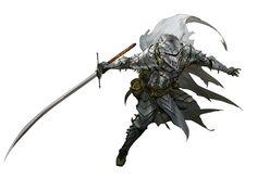m Fighter plate armor sword helm kekai kotaki