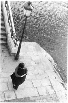 Ile St. Louis, 1964 by Edouard Boubat