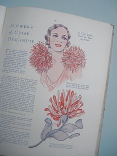 Vintage Sewing Book  1920s 1930s Needlecraft  by sewmuchfrippery,