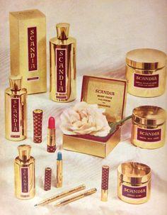 Scandia Cosmetics Ad, 1958