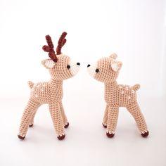 Crochet deer doll amigurumi pattern by isoDreams 손뜨개 사슴인형 패턴 by 이소의꿈타래