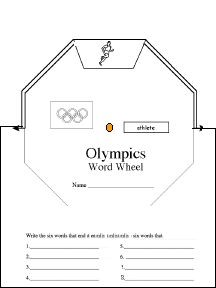Olympics printables including an ancientmodern venn diagram the rio olympic games enchanted learning ccuart Choice Image