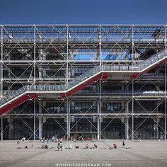 CENTRE GEORGES POMPIODU | Renzo Piano + Richard Rogers | Paris, France