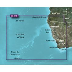 Garmin Bluechart® g2 Vision® - VAF451S - Namibia - Knysna, SA - microSD™/SD™