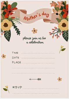 GOOD LOOKS - Mothers Day Invitation