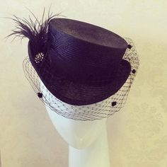 Gloria Pearl BY AMANDA SMITH #millinery #hats #HatAcademy