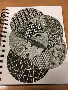 I watched this Zia designed in stages and I am still so impressed with the artist! This still remains canvas worthy to me! Doodle Art Drawing, Zentangle Drawings, Mandala Drawing, Zentangle Patterns, Art Drawings, Zentangles, Geometric Drawing, Zen Art, Ink Illustrations