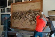 Egger-Lienz Exhibition Austria, Painting, Art, Kunst, Art Background, Painting Art, Paintings, Performing Arts, Painted Canvas