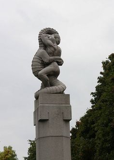 vigeland park Oslo, Norway - some of the most amazing sculptures