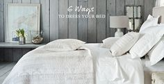 Bedroom styling - The White Company