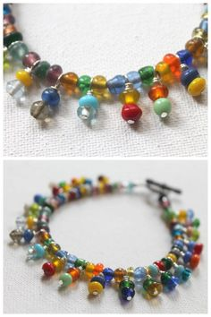 DIY Bead Dangle Tutorial from Emerging CreativelyTutorials.  This DIY will teach you how to make a bead dangle/wire wrapped headpin. If you are looking for basic to advanced wire work jewelry tutorials or great tips on selling jewelry (online, craft fairs, etc…) this is an excellent site. Seriously, I was just scrolling through her posts for over an hour.There is a detailed written tutorial and a video tutorial here - the best of both worlds.