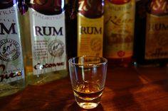 Rum tasting at St. Aubain, Mauritius