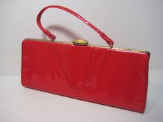 Bright Red Patent Leather!