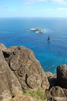 Easter Island 'graffiti'