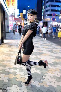 Harijuku street fashion - LBD Toyko style