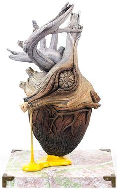 Une sélection des créations de l'artiste américainChristopher David White, qui parvient à donner à ses céramiques l'aspect ultra-réaliste et organique