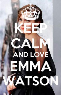 Keep calm and love Emma Watson (20)