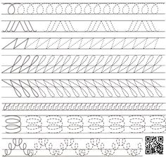 Trace the Dotted Lines Worksheets for Kids - Preschool and Kindergarten Handwriting Practice Sheets, Hand Lettering Practice, Hand Lettering Alphabet, Handwriting Worksheets, Teaching Cursive Writing, Writing Practice Worksheets, Pre Writing, Calligraphy Worksheet, Calligraphy For Beginners