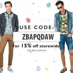 In need of retail therapy? Shop now at www.zalora.com Free shipping, free return and Cash on Delivery #ShopEasyFastSafe&Secure
