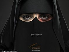 """This image is from Saudi Arabia's first ever domestic violence campaign. The caption translates to """"Some things can't be covered."""" #progress #prevention #awareness"""