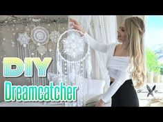 DREAMCATCHER DIY Tutorial | How to make a dreamcatcher - YouTube