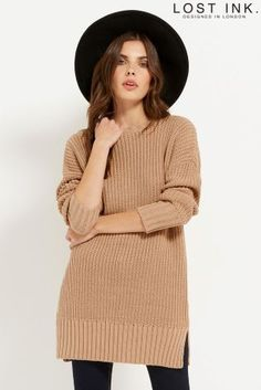 Buy Lost Ink Lace Back Detail Jumper from the Next UK online shop
