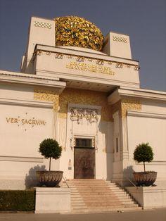 Josef Maria Olbrich. Secession Building. Vienna. 1898-99 #architecture #vienna
