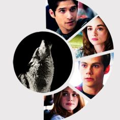 Teen Wolf. I'm not a teen, but I like this show. Tyler Posey is still as adorable now as he was as a child actor.