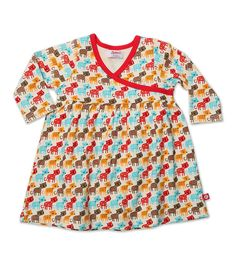 Love the dress in cat pattern  Kitty Kat Wrap Baby Dress   Zutano: Clothes Unique As Your Baby