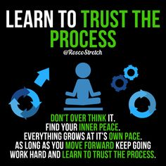 Trust The process and you'll see the results that you want! Positive Quotes For Life Motivation, Business Motivation, Business Quotes, Positive Vibes, Life Quotes, Assassins Creed Quotes, Learning To Trust, Trust The Process, New Energy