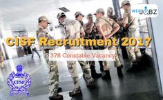 cisf recruitment 2017