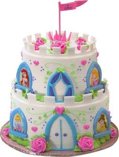 Princess Castle Cake Photo:  This Photo was uploaded by gailyn331. Find other Princess Castle Cake pictures and photos or upload your own with Photobucke...