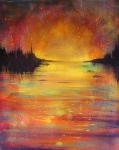 """Acrylic Landscape Painting Gallery 
