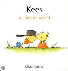 Kees ontdekt de wereld - Olivier Dunrea - plaatsnr. K DUNR/006 #Prentenboek