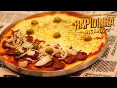 Pizza de Liquidificador - Receitas CyberCook