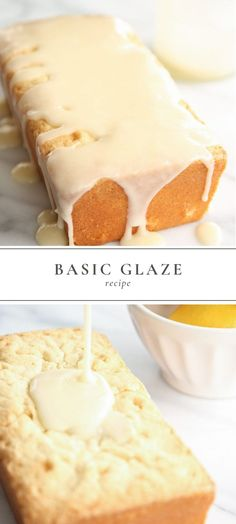 This basic glaze recipe never disappoints. It's perfect for topping pound cake, angel cake, bundt cake and even doughnuts! It requires just 4 staple ingredients and less than 5 minutes of time to make. More from my siteEasy Cake Glaze Recipe Easy Cake Glaze Recipe, Basic Glaze Recipe, Glazed Icing Recipe, Icing Recipe For Cake, Frosting Recipes, Nothing Bundt Cake Icing Recipe, Sweet Glaze Recipe, Petit Four Glaze Recipe, Health Desserts