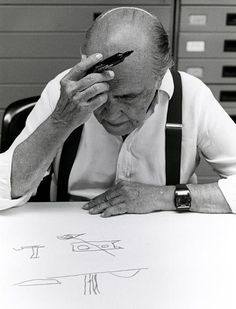 mfs:  Oscar Niemeyer. (Photo - Sergio Amaral)