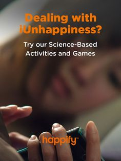 Stop negative thoughts, reduce stress, and build confidence with fun activities and games based on over a decade's worth of research on the science of happiness. Signup for Happify today to start your journey!