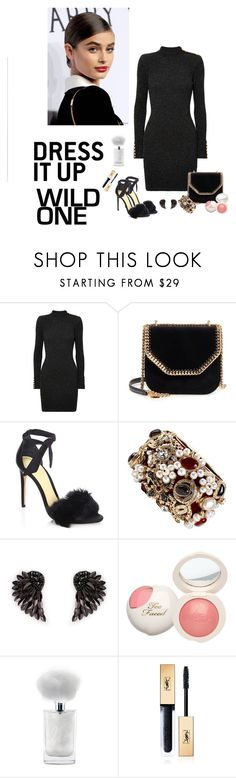 """Wild one"" by audrey-balt ❤ liked on Polyvore featuring Balmain, STELLA McCARTNEY, Alexandre Birman, Chanel, Henri Bendel and Yves Saint Laurent"