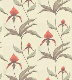 Cole and Son's Orchid wallpaper
